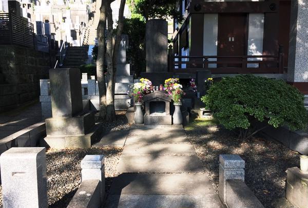 福沢諭吉墓とミイラ