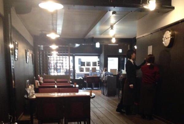 喫茶店スペース