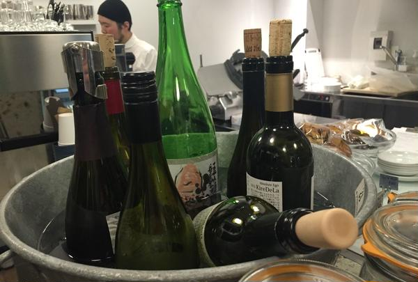 ワインの種類も豊富*