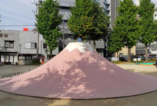 絶滅危惧名山「富士山」
