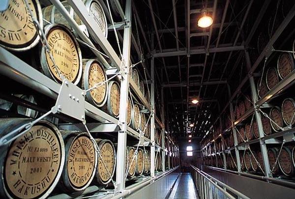 サントリー白州蒸溜所・サントリー天然水白州工場