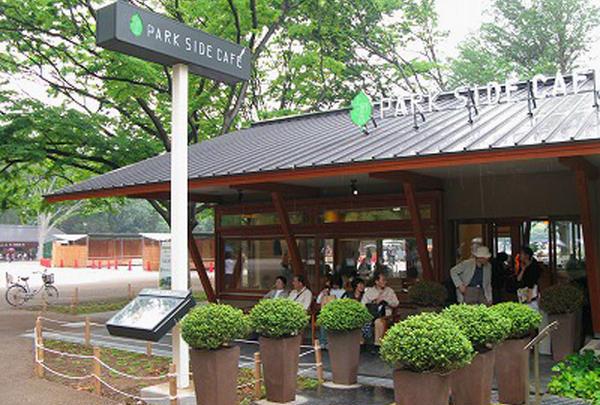 【上野】上野の森 PARK SIDE CAFE