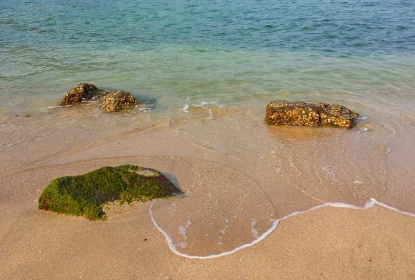 えぷろん亭近くにある「無名のビーチ」