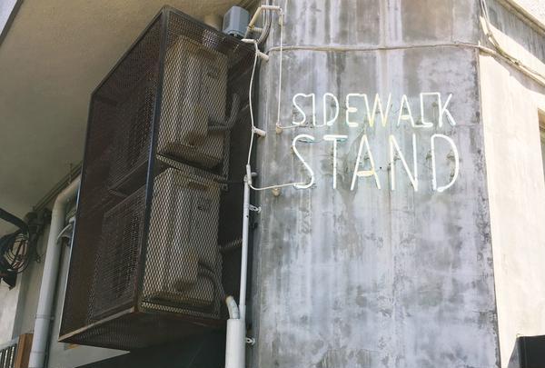 サイドウォーク スタンド (SIDEWALK STAND)