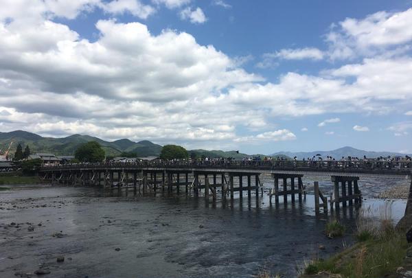 嵐山公園と嵐山界隈
