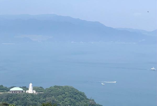 友ヶ島 タカノス山展望台