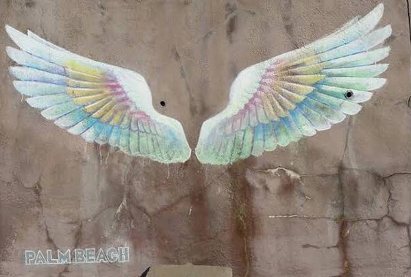 パームビーチ 天使の羽