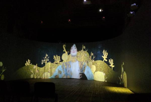 Multimedia art show Monet2Klimt / Helios Hall
