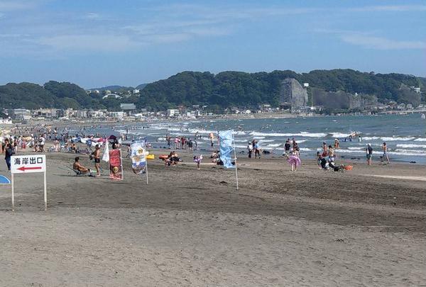 由比ガ浜海水浴場の写真・動画_image_640871