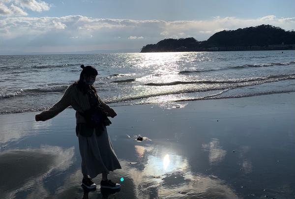 由比ガ浜海水浴場の写真・動画_image_744495
