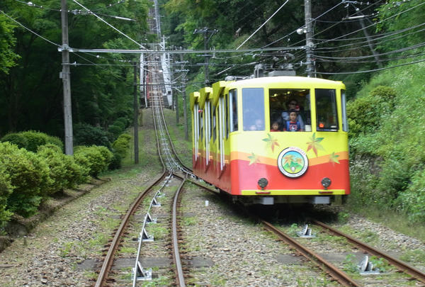 高尾山ケーブルカーの写真・動画_image_82241