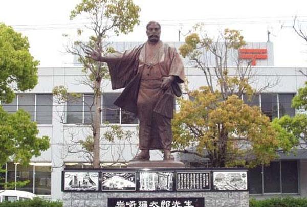 岩崎弥太郎像
