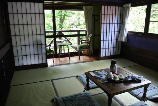 宿泊時には個室もあります