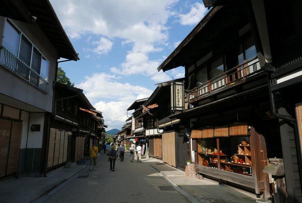 中仙道奈良井宿