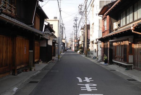 古い建物が並んでいる地域