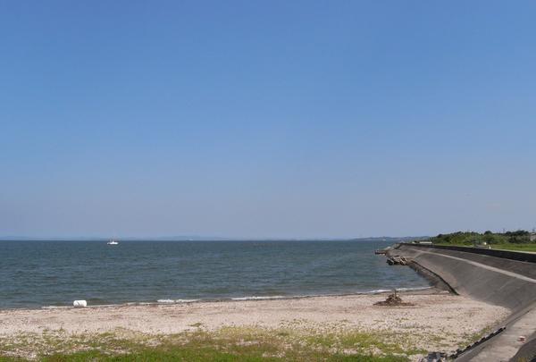 河和の海岸