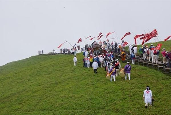 剣山山頂 標高1955m