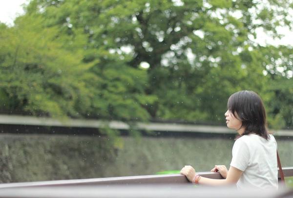 熊本城長塀前