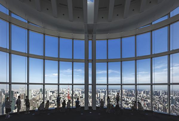 六本木ヒルズ展望台 東京シティビュー/スカイデッキ TOKYO CITY VIEW/SKY DECK