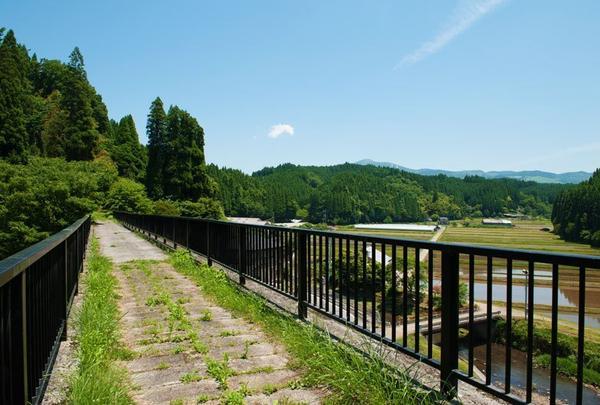 旧国鉄宮原線遊歩道の写真・動画_image_804834
