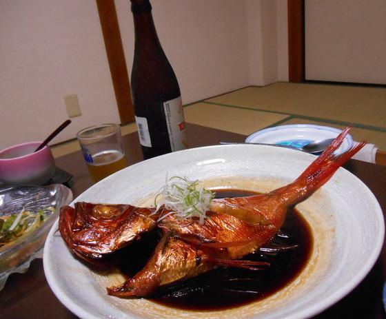 金目鯛の煮つけ