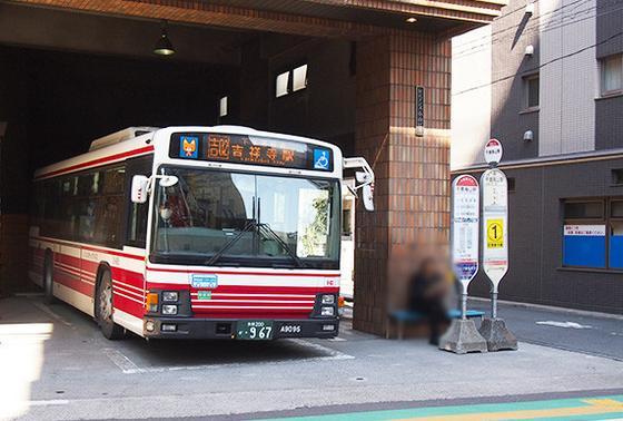 吉祥寺へもバスで楽々
