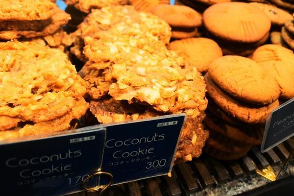 アメリカンサイズのクッキー