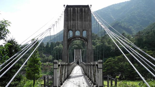 桃介橋や妻籠宿を巡り、温泉をハシゴする旅