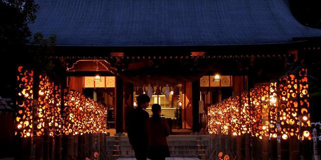 【終了】秋の夜長は菊池温泉の竹灯り「ほの宵まつり」で幻想的な一夜を♪