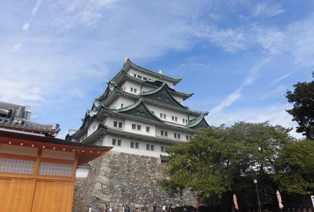 名古屋城の城下町を散策
