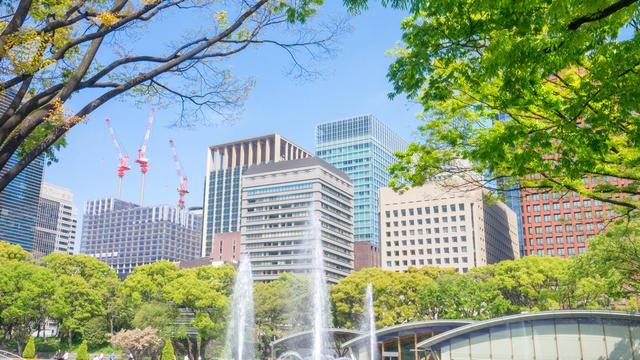 和田倉噴水公園とその周辺