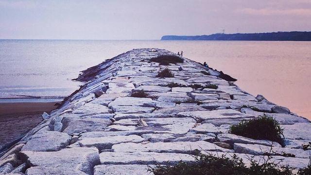 【日帰りフォトスポット】銚子の海をお写んぽ!屏風ヶ浦の夕景 地球が丸く見える丘