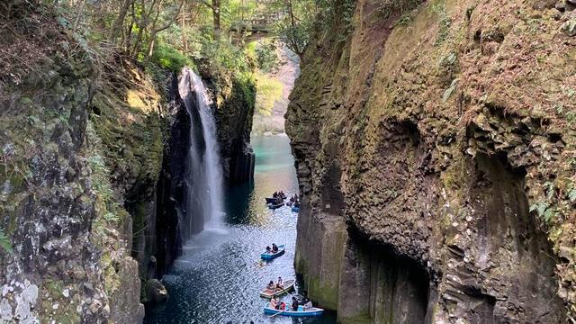 宮崎神話の旅①アマテラスの高千穂峡に行く!