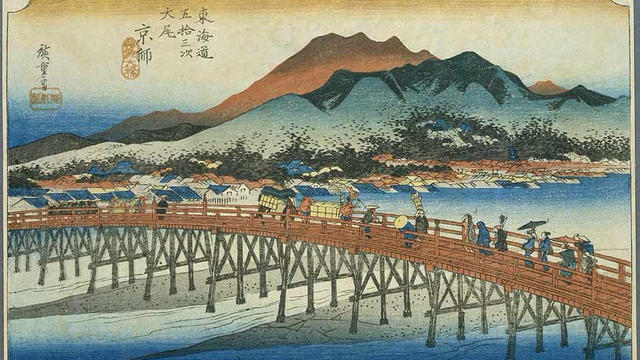 東海道散歩その2 (三条大橋から新居宿)