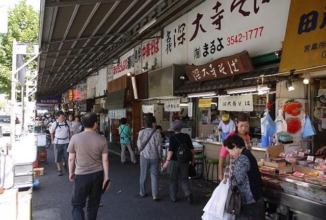 東京の台所・築地市場で食べ歩き