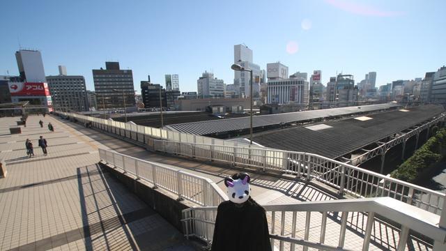 鉄分補給に!ぶらり上野→日暮里、山手線跨線橋の旅