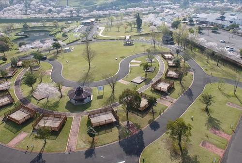 快適キャンプ♪観音池公園オートキャンプ場