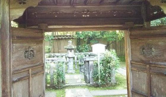 忠興とガラシャの墓所