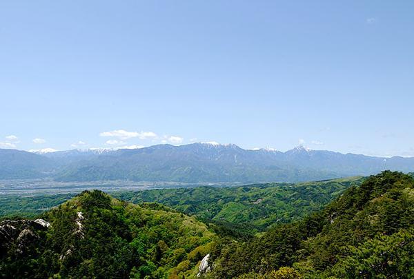 昇仙峡ロープウェイ山頂