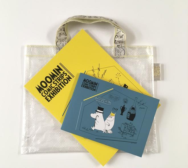 (c)Moomin Characters (TM) 図録(バッグ付き):2,200円(税込)