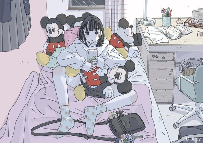 "大島智子 ""お部屋"" (c) Disney"