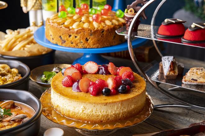 リースのプリンケーキ イメージ