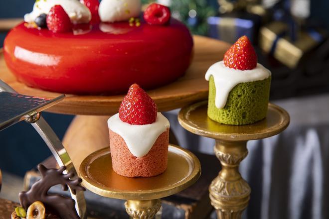 キャンドルロールケーキ イメージ