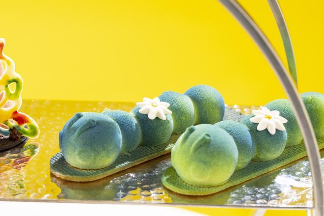青いもむしのシエスタケーキ イメージ