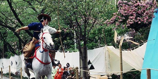 江戸のグルメと桜と流鏑馬と! 海外からのお客様のアテンドにもおすすめ。春の一泊旅!