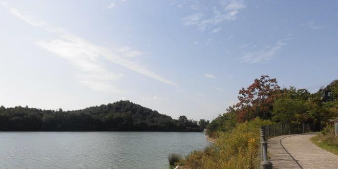 加古川の平荘湖・日岡山