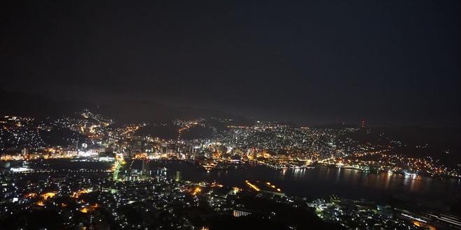 世界三大夜景 稲佐山!