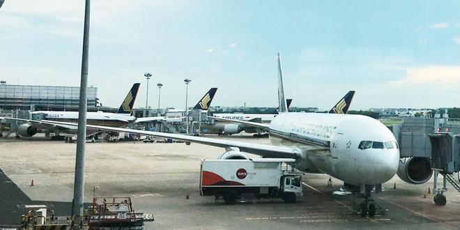 シンガポール女子旅💁♀️Day1🇸🇬(空港&マリーナエリア散策)