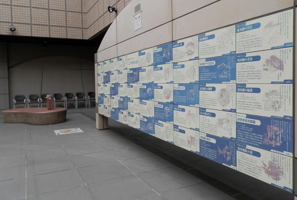 「光庭」には寅さん旅の記録が刻まれています