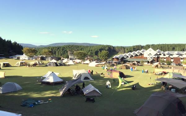 温泉、食事処、キャンプ